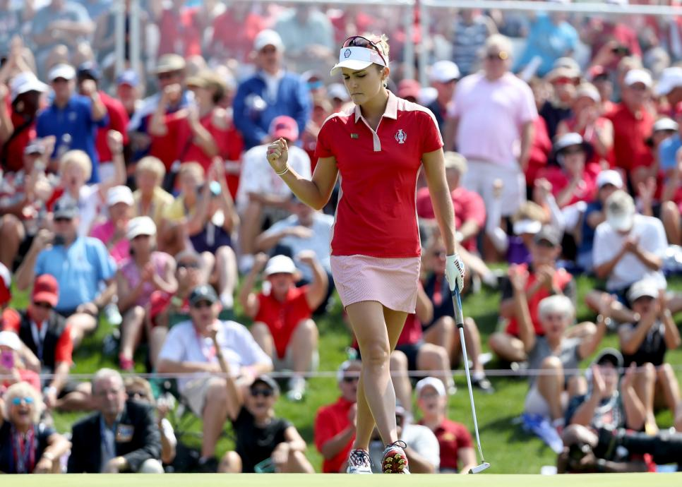 lexi thompson The Solheim Cup - Day One