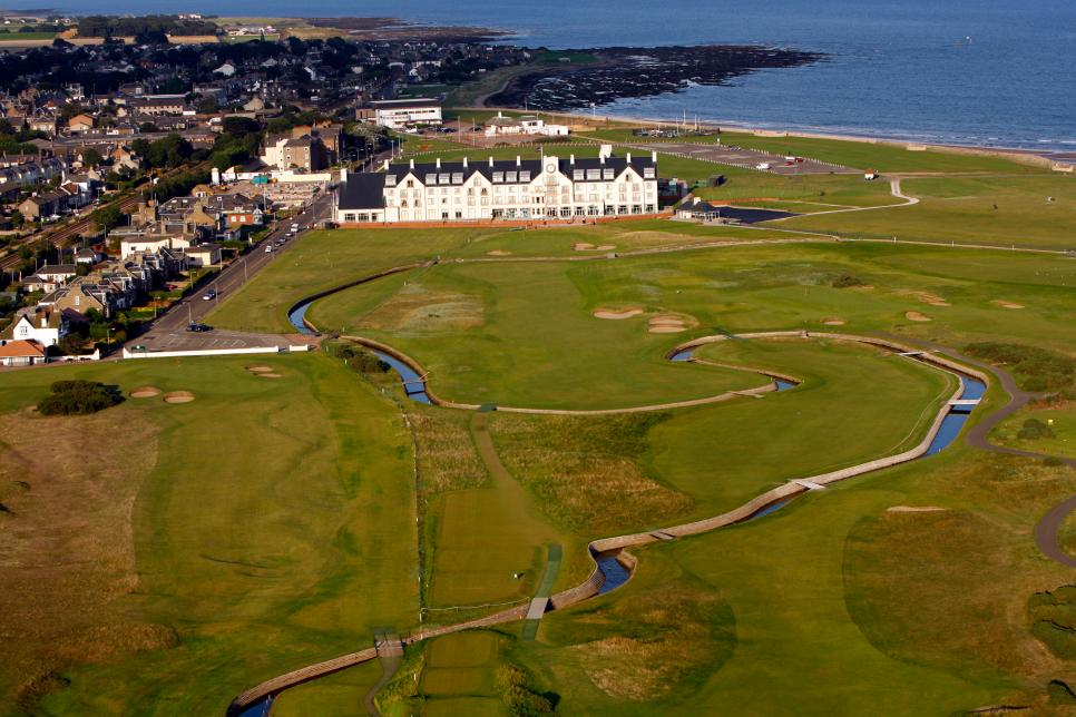 Carnoustie Open Course