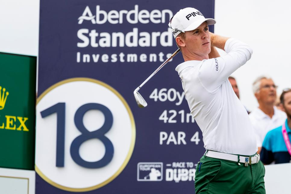 2018 Golf Aberdeen Investments Scottish Open 4th Round Jul 15th