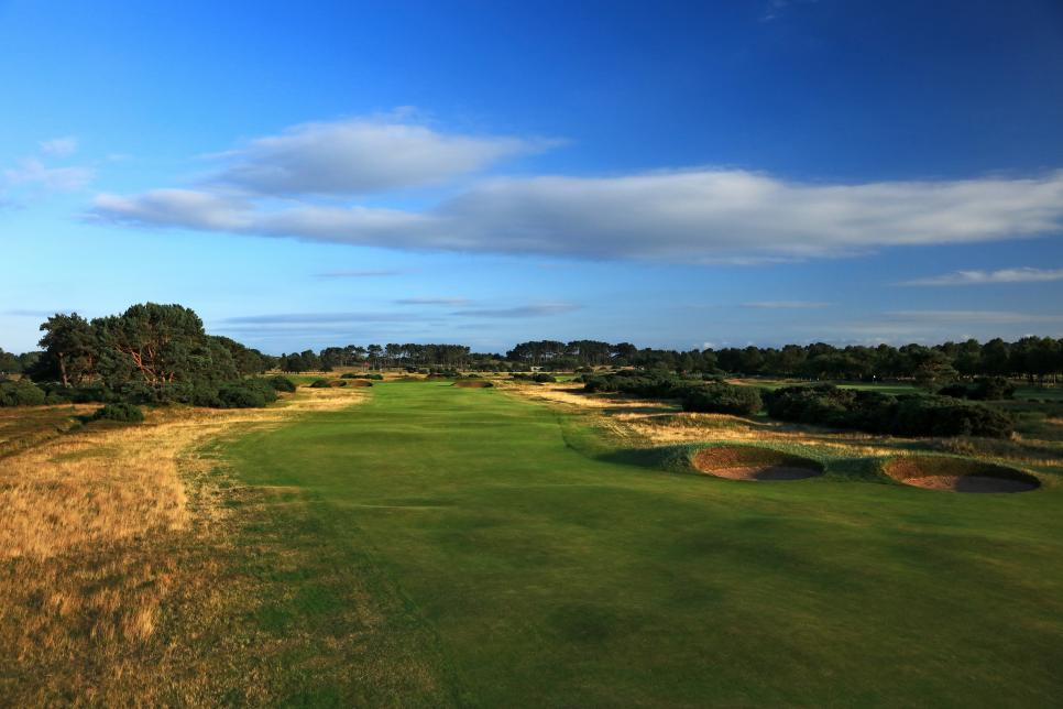 General Views of the Championship Course at Carnoustie Golf Links