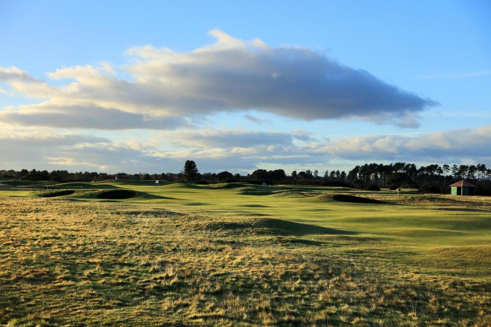 General Views Carnoustie Championship Links