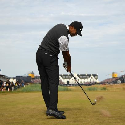 Tiger Woods details last-second swing adjustments that'll blow your mind