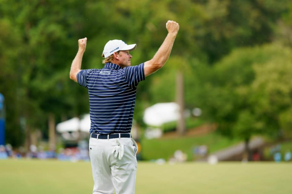 GOLF: AUG 19 PGA - Wyndham Championship