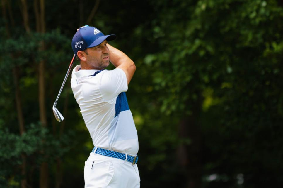 GOLF: AUG 18 PGA - Wyndham Championship
