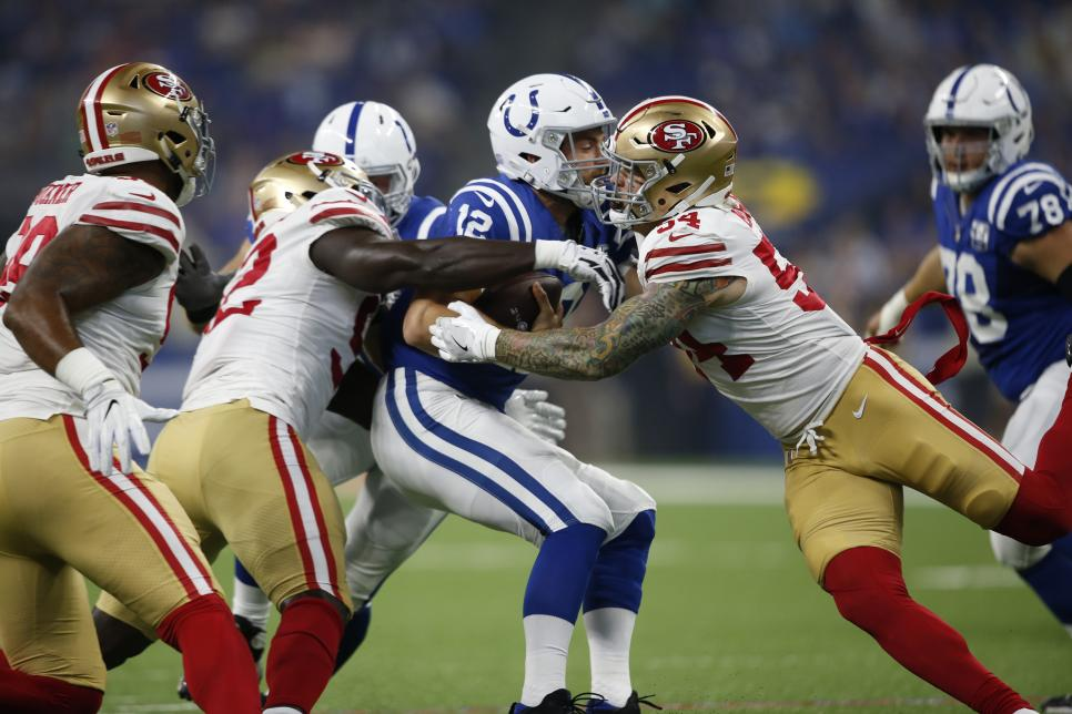 San Francisco 49ers v Indianapolis Colts