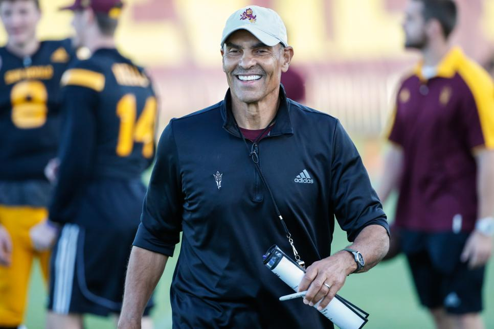 COLLEGE FOOTBALL: APR 13 Arizona State Spring Game