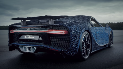 This drivable Bugatti Chiron is the latest example of absurdly large Legos