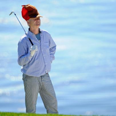 Bill Murray's greatest golf style statements through the years