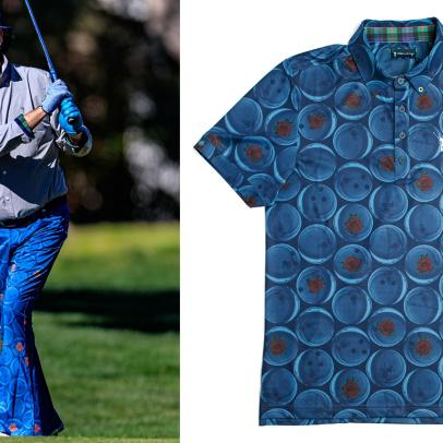 Only Bill Murray could make a bowling shirt perfect for golf