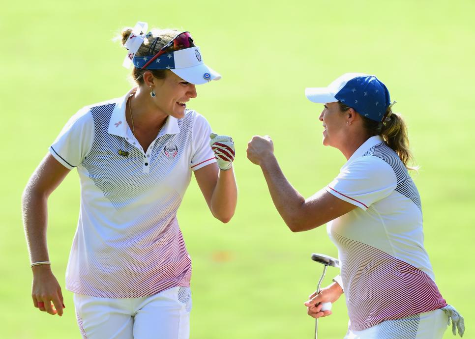 lexi cristie The Solheim Cup - Day Two