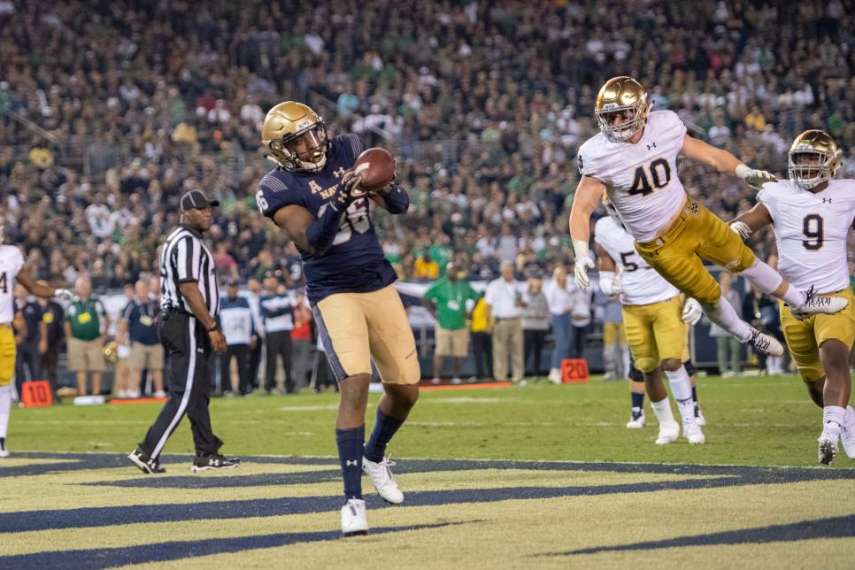 COLLEGE FOOTBALL: OCT 27 Navy v Notre Dame