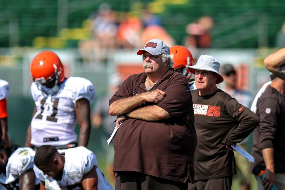 NFL: AUG 12 Browns Training Camp