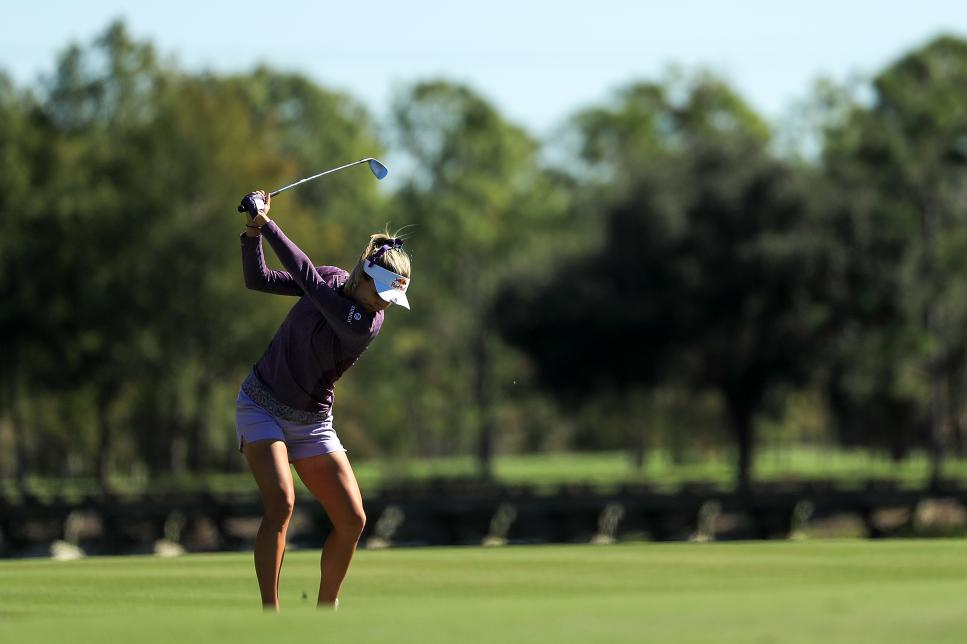 lexi thompson CME Group Tour Championship - Round Two