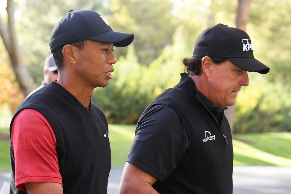 The Match: Tiger vs Phil