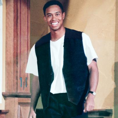 15 photos of Tiger Woods when he had a, um, limited sense of style