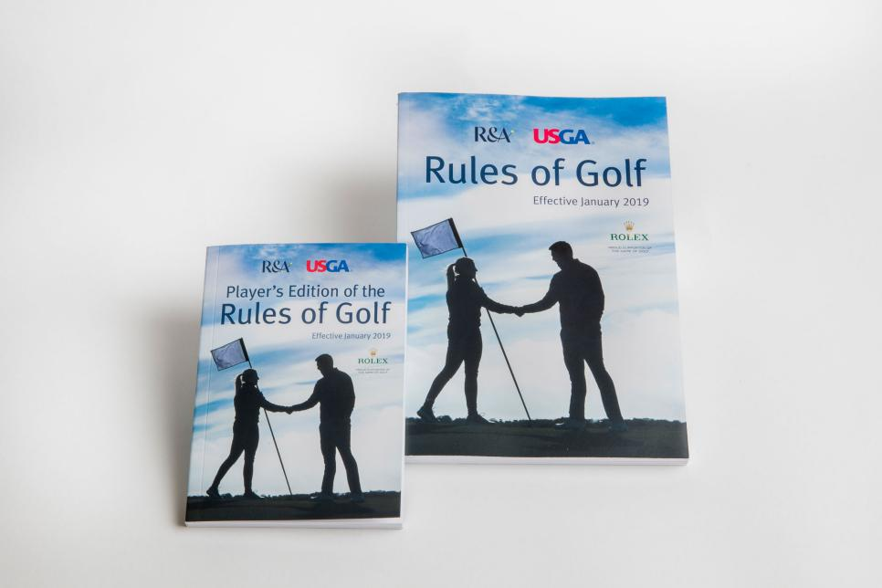 Player's Edition of the Rules of Golf and the Rules of Golf