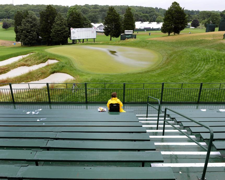 Weather problems will hit Bethpage