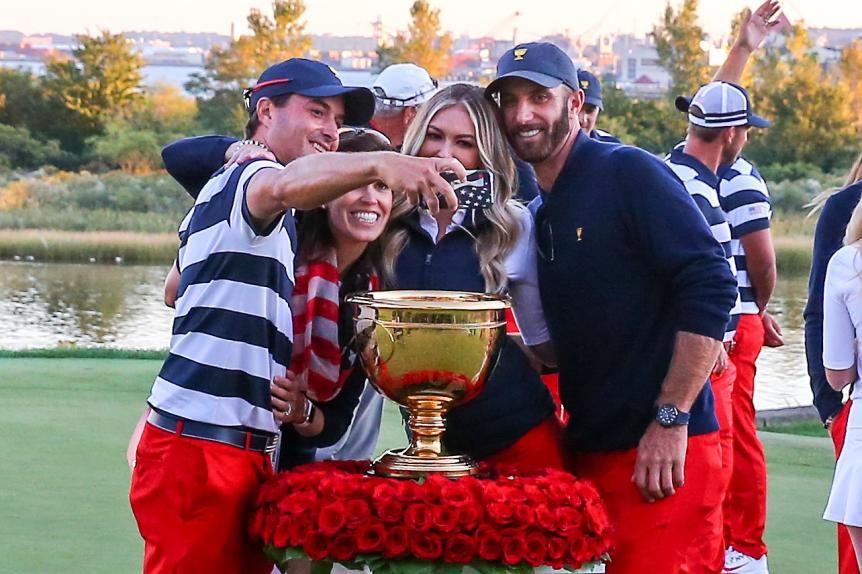 The U.S. will cruise at the Presidents Cup