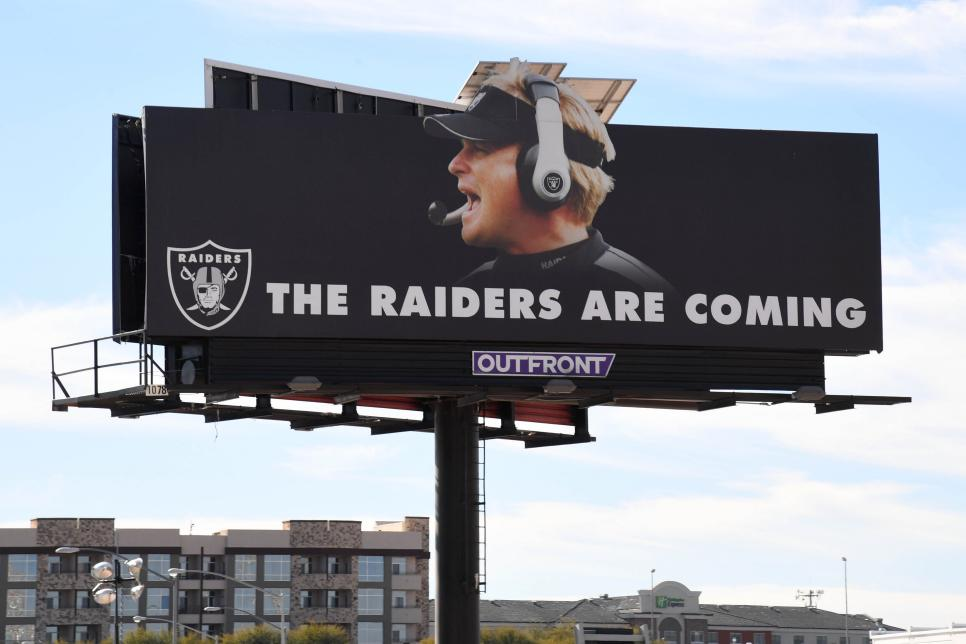 Raiders Las Vegas Stadium Site Under Construction