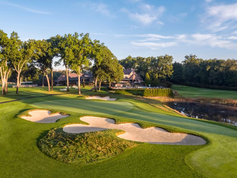 9th Hole, Ridgewood Country Club East Course