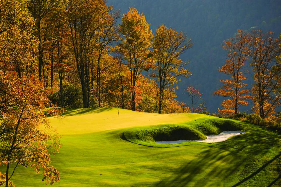 Primland. A sport resort, situated on a mountain top in the Blue Ridge Highlands of Virginia.
