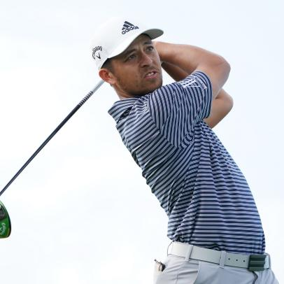 "Xander Schauffele on his equipment and why that ""topped"" tee shot was actually the shot he was trying to hit"