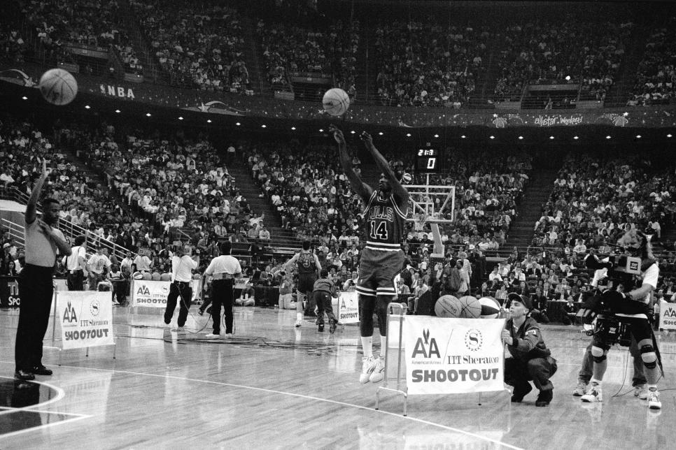 1992 NBA All-Star 3 Point Contest