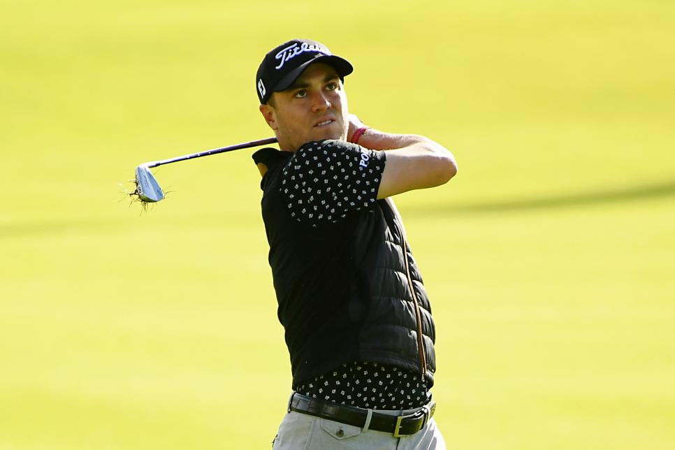 Justin Thomas Genesis Open - Round One