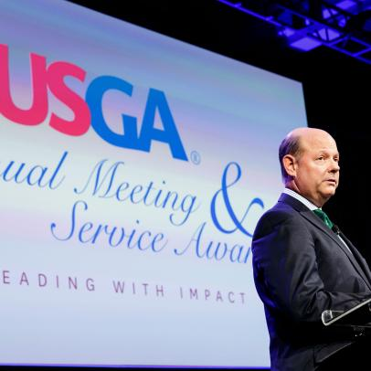 The search process is already underway to find the USGA's next chief executive