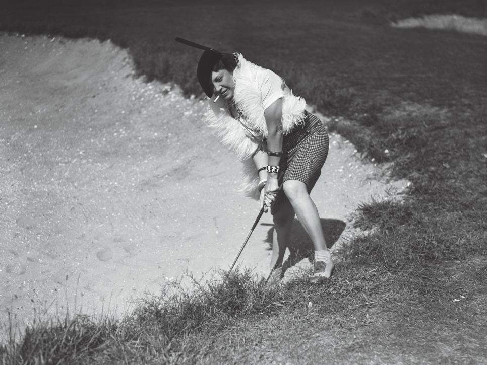 Golfing in Inappropriate Clothing