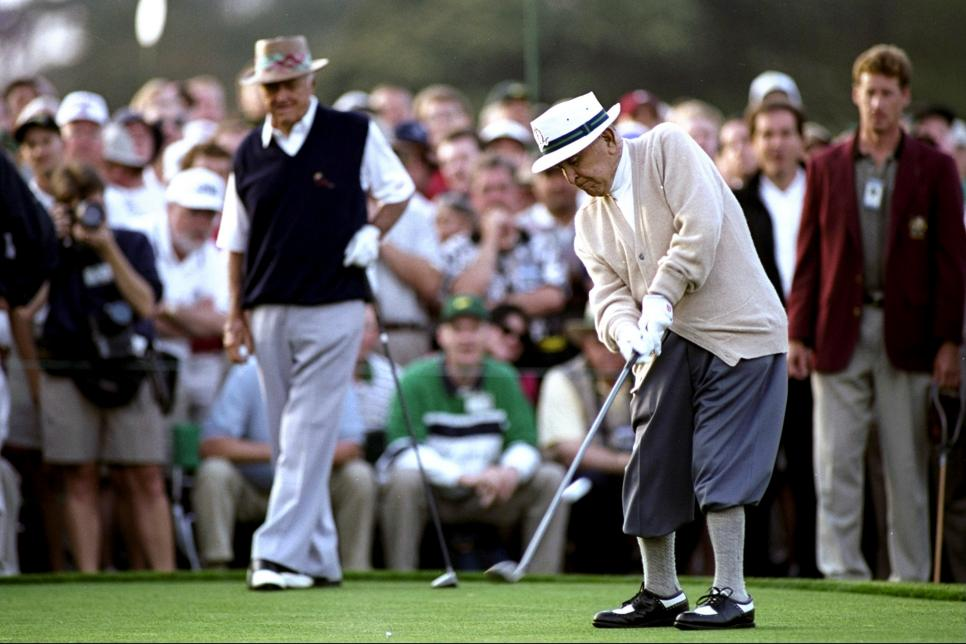 Gene Sarazen of the USA