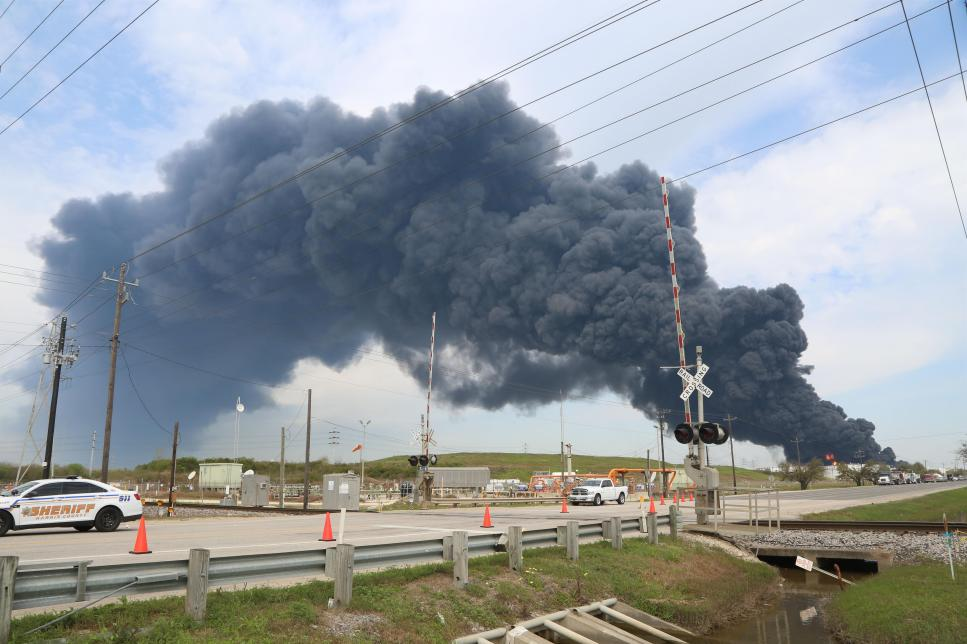 Houston-area Chemical Fire