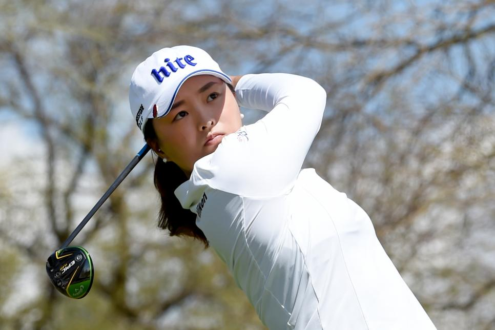 jin young ko Bank Of Hope Founders Cup - Round One