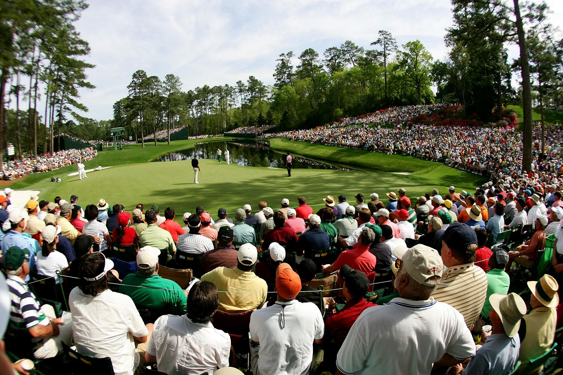 The Masters - First Round