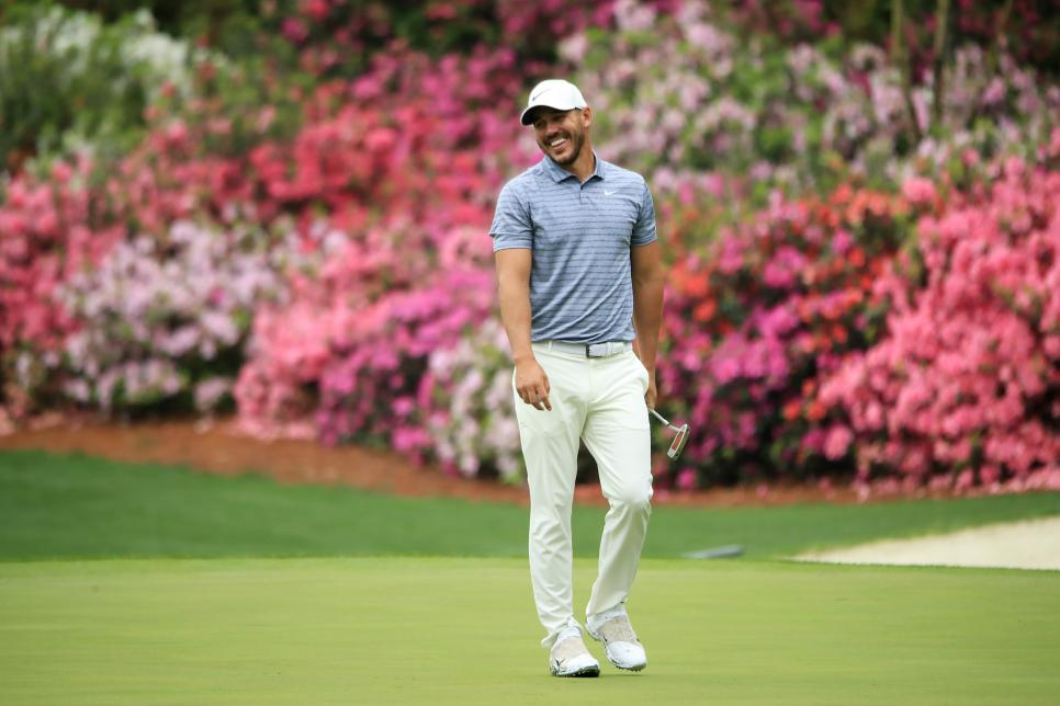 brooks koepka The Masters - Preview Day 1