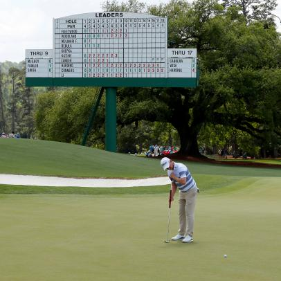 Masters 2019: You might not have heard of Justin Harding, but you may want to copy his putting style