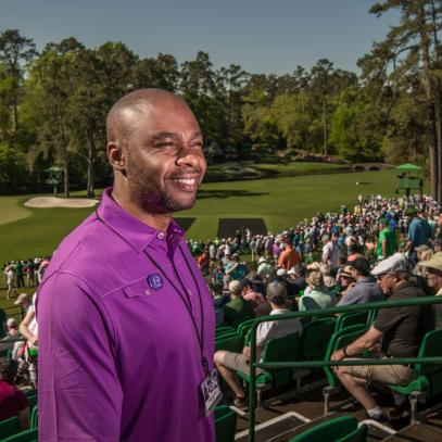 From a jail cell to Amen Corner, Valentino Dixon's improbable journey continues