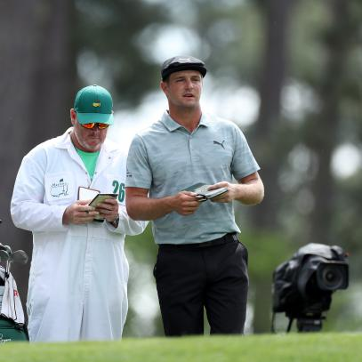 Masters 2019: Some guys  try not to overthink golf. Then there's Bryson DeChambeau