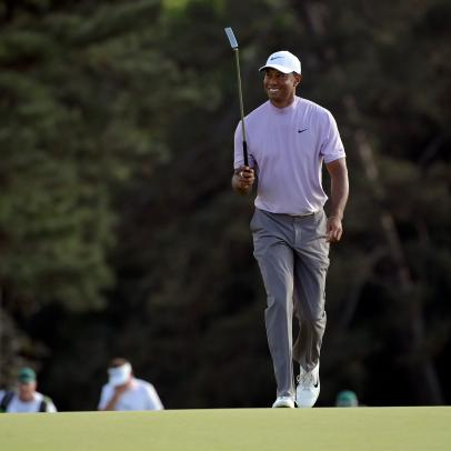 Masters 2019: Tiger Woods emerges from a frenetic Saturday with history within reach
