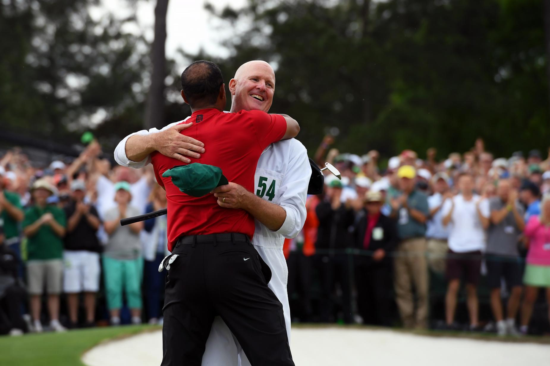 joe lacava and tiger 2019 Masters