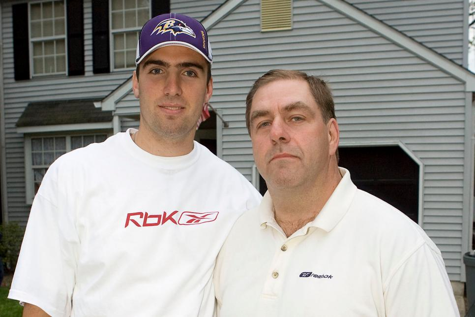 Joe Flacco Drafted By Baltimore Ravens - Press Conference