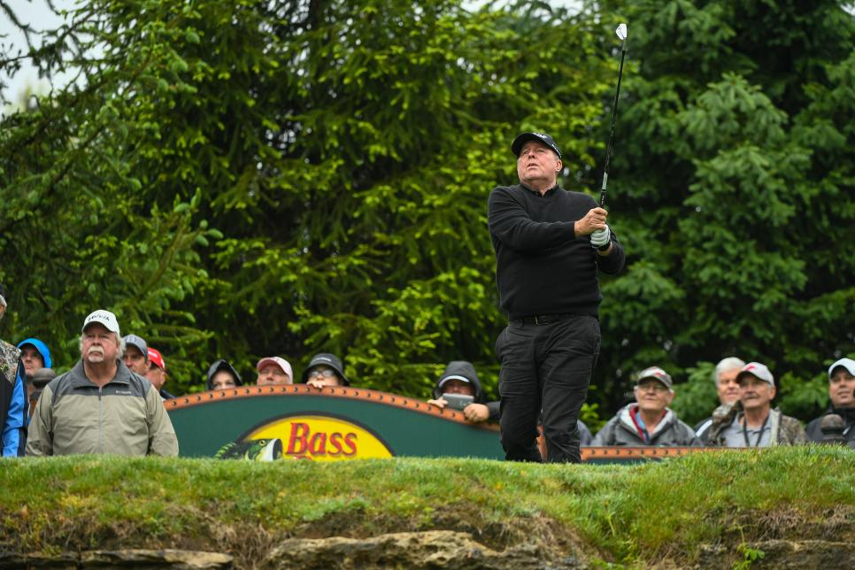 Bass Pro Shops Legends of Golf at Big Cedar Lodge - Round One