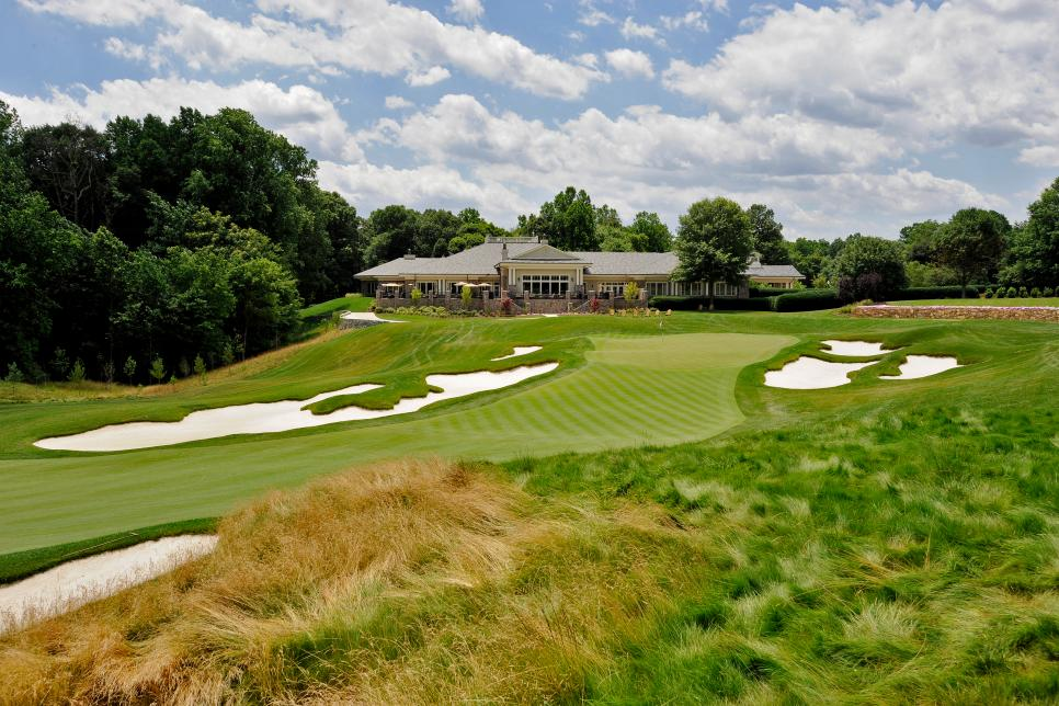 PGA TOUR - TPC Potomac Clubhouse and Course Scenics