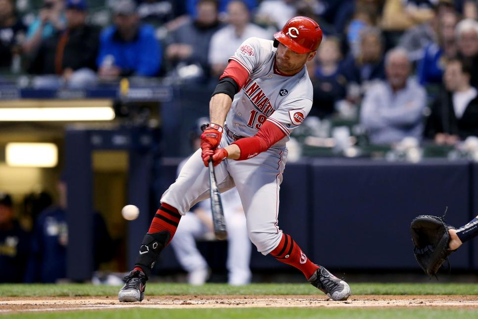 Cincinnati Reds v Milwaukee Brewers