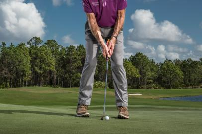 David Leadbetter's secret to great putting