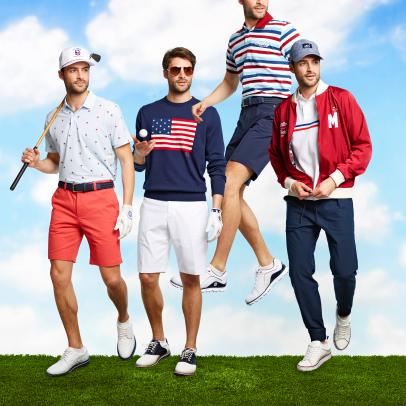 Patriotic golf gear that will look good beyond July 4