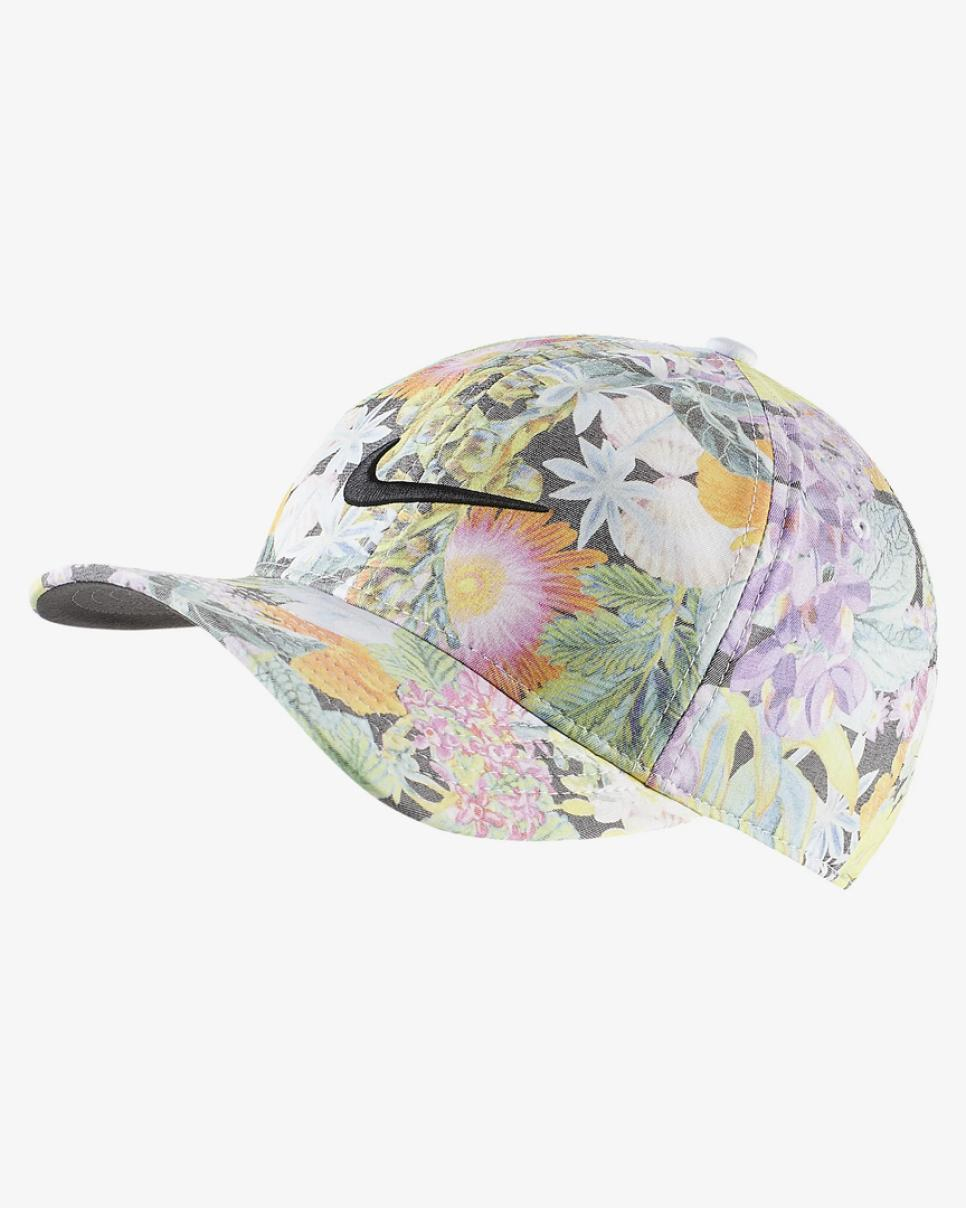 Brooks Koepka Nike Floral US Open Hat.jpg