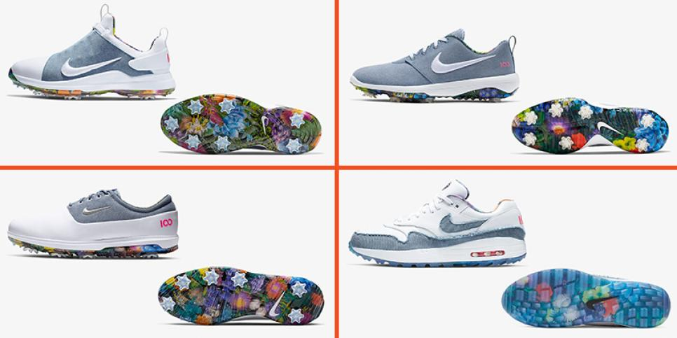 Nike No Denim Allowed Golf Shoe Floral US Open.jpg