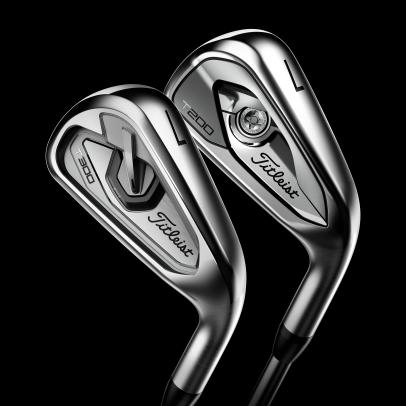 New Titleist irons (T200, T300) unveiled to tour staff at Travelers Championship