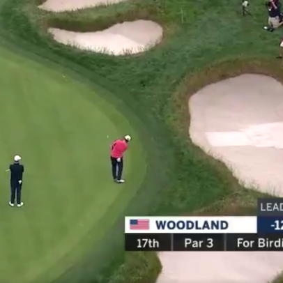 You, too, can hit Gary Woodand's tight-lie green chip